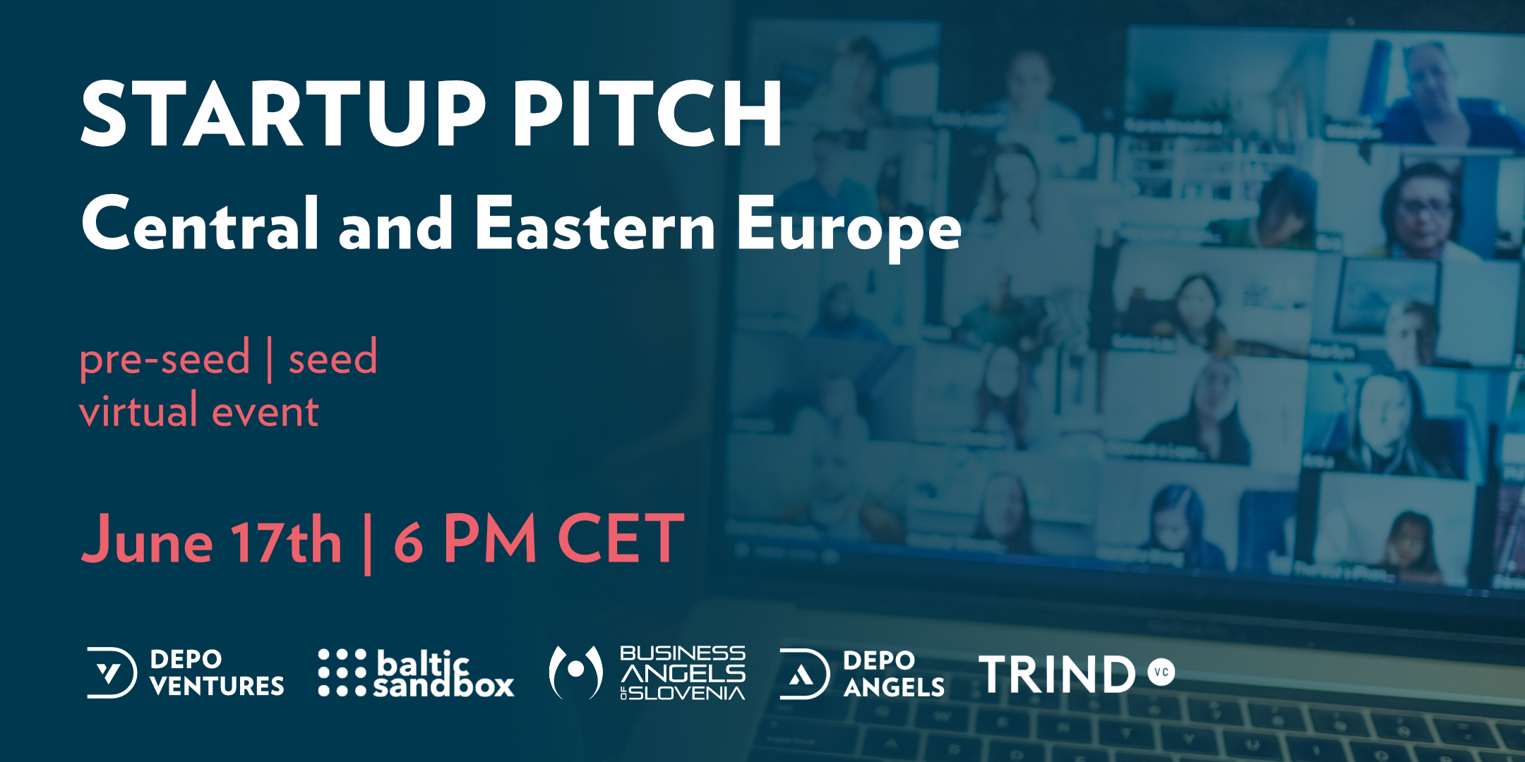 DEPO VENTURE Startup Pitch, CEE edition