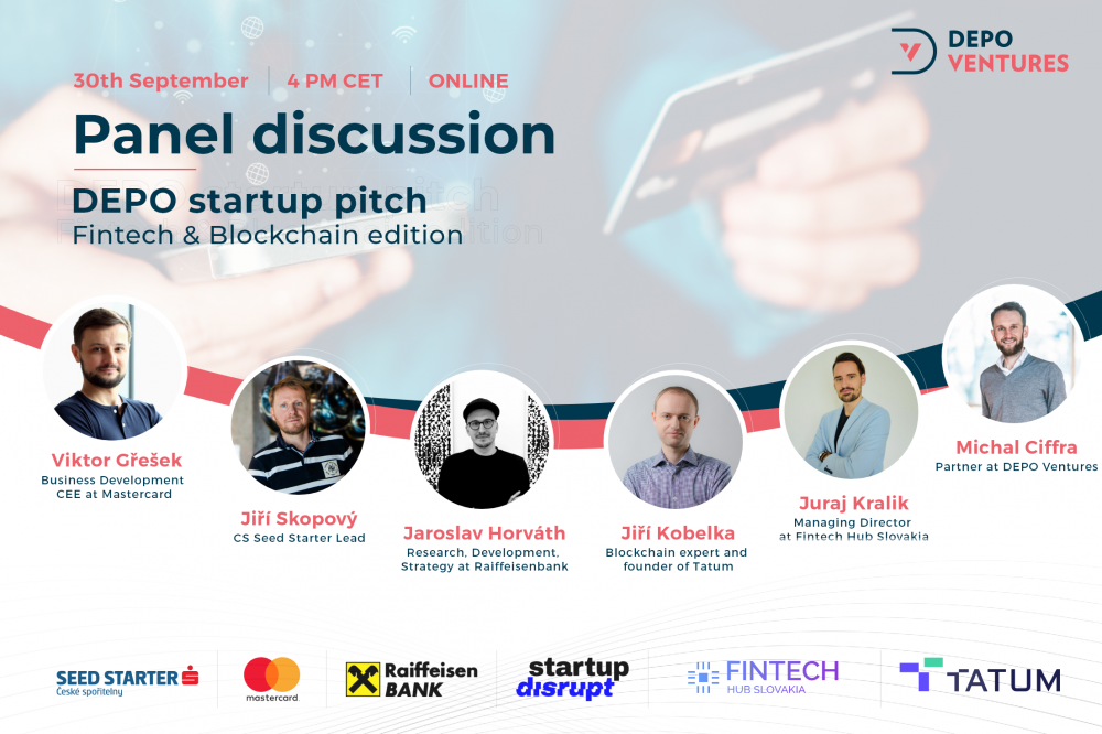 DEPO Ventures Blockchain and Fintech Pitch