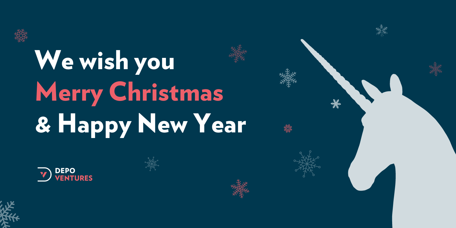 Depo Ventures investment group wishes Merry Christmas and Happy New Year