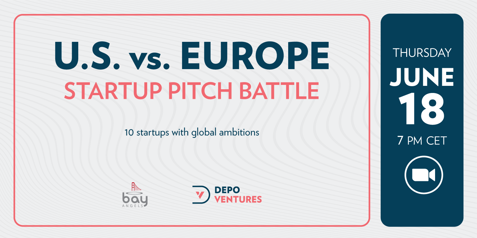 U.S. vs. EUROPE Startup Pitch Battle